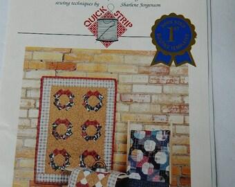 Bow Tie Quilt Pattern, 3 Inch Bow Tie Template, Shar's Prairie Patchwork, Quilt Pattern Destash, Quick Strip Quilts, Sewing Destash
