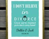 Funny Wedding gift, Couples wedding sign, Personalized Couples Gift, Custom Wedding Gift, Bridal Shower Gift
