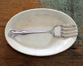Vintage fork initial N
