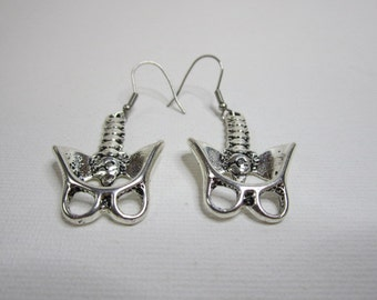 Anatomical Pelvis Earrings