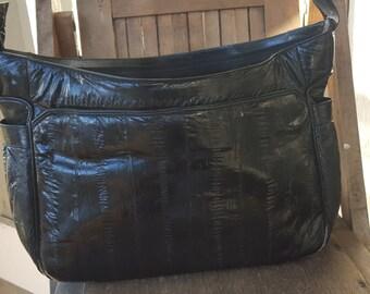 SEA SERPENT    ///   Large Eelskin Bag