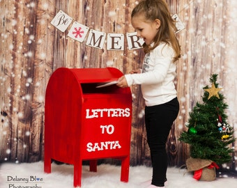 North Pole Mailbox Christmas Prop