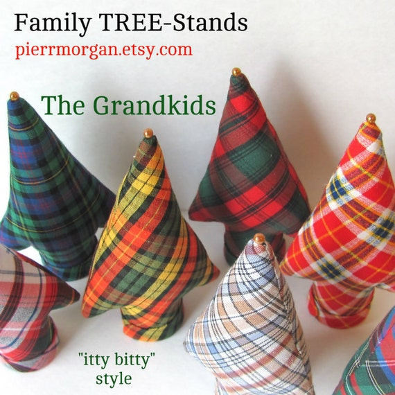 """Custom Order 1 """"itty bitty"""" Style Family TREE-Stand"""