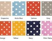 Custom -  Ikat Polka Dots