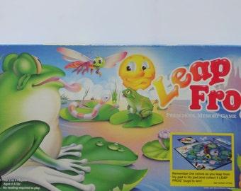 Vintage Leap Frog Board Game 1987