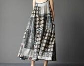 Women Summer Long dress oversized loose harness dress