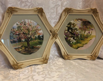 Ornate Octagon Wood Frames - Trugaurd - Art Framed