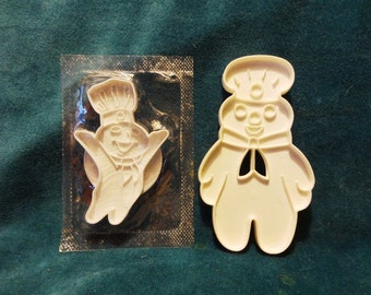 1989 2 Pillsbury Dough Boy Cookie Cutters