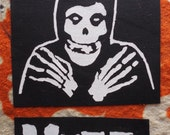 Lot of 2 Misfits Sew On Patches