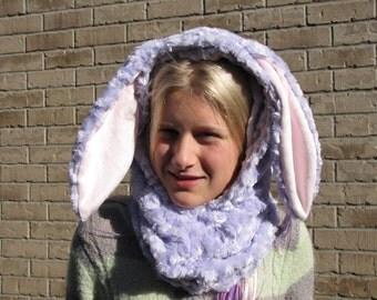 Bunny Winter Hat Cowel