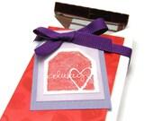 Valentine Novelty Gifts, Valentine Chocolate Bar Holder, Homemade Candy Bar Box, Valentine Packaging, Stampin' Up Crafts