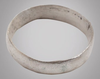Vintage Wedding ring from the Viking Age C.866-1067A.D. Size 12 1/4 (21.3mm)(Brr837)