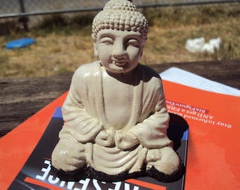 Buddha Stone Paperweight, Decor, Shipping Included