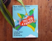 "Vintage 1987 Hardback Marlo Thomas & Friends ""Free to Be A Family"" ...A Book About All Kinds of Belonging"