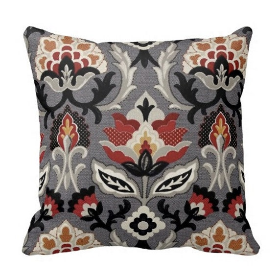 Decorative Pillows Neutral : Items similar to Fall Pillows, Decorative Pillows, Grey Pillows,Neutral Couch Pillows, Waverly ...