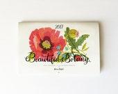 2017 Beautiful Botany calendar