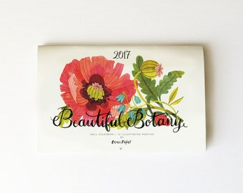 2017 Beautiful Botany calendar
