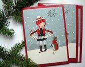 Lot de 3 cartes postales Bonne année