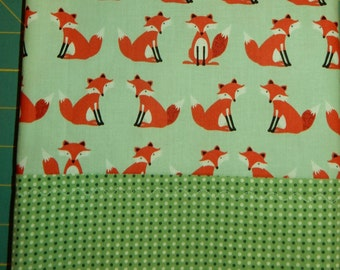 Pillow Case Foxes