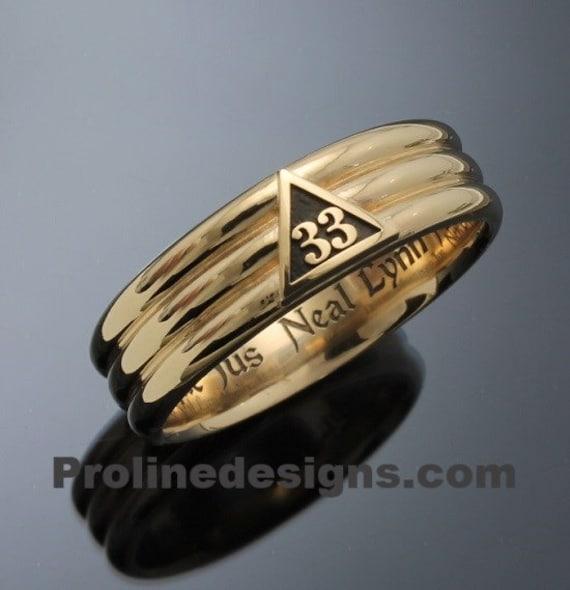 Degree Masonic Ring