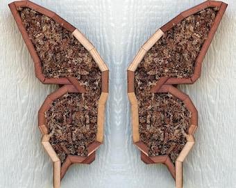 DIY Butterfly Succulent Planter Vertical Planter