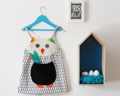 owl baby girls summer dress