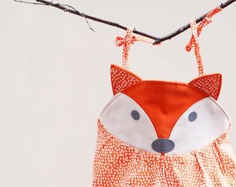 Fox summer baby romper.