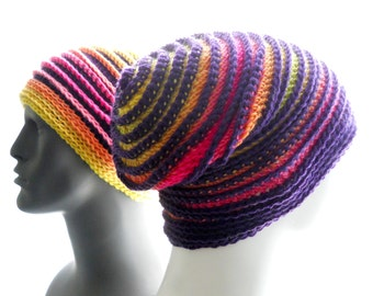 CROCHET PATTERN: Reading Between the Lines, a Crochet Hat Pattern for Women and Men
