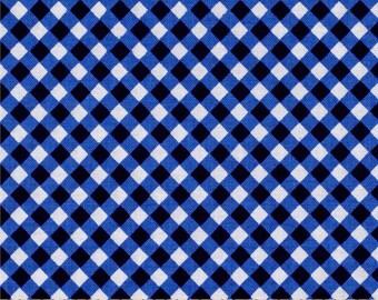 Navy Blue (Midnight) Cross Checks from Michael Miller