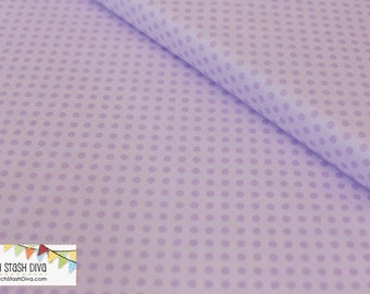 Lavendar Tone-on-Tone Small Dots from Riley Blake