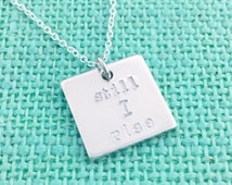 """Semicolon Project """"still I rise"""" inkless quote - hand stamped by Eight9 Designs"""
