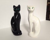 Vintage Siamese Cat Figurines / Bookends