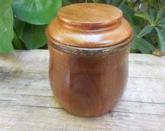 Vintage Decatur Walnut Humidor with humistat