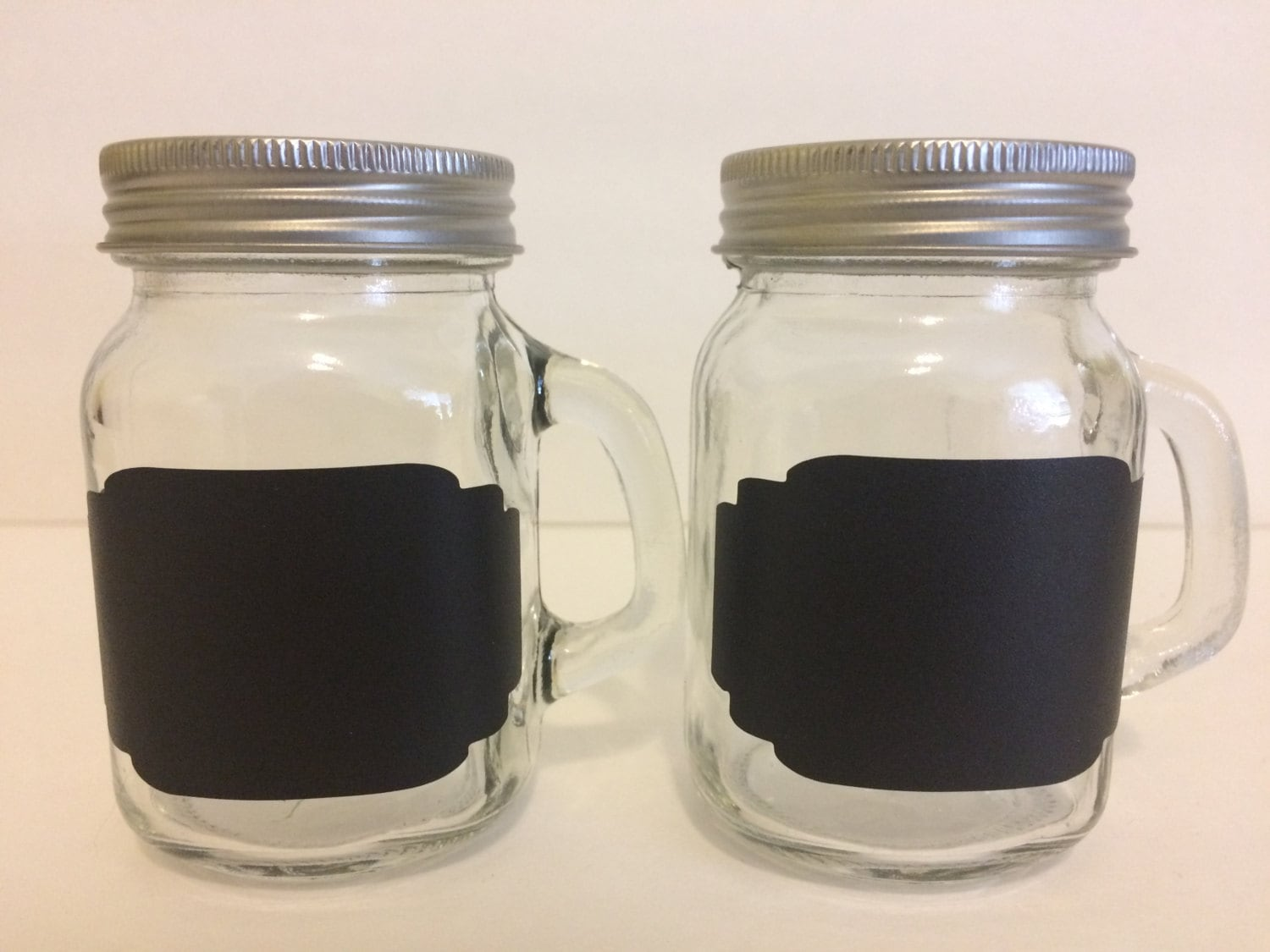 Mini Mason Jar Salt Pepper Shakers Mini Mason Mug Salt And