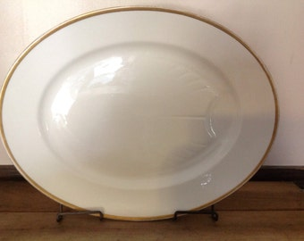 """Antique D & C France L. Bernardaud and Co. Limoges Platter--Extra Large 17 1/2"""""""
