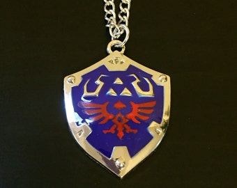 The Legend of Zelda Hyrule Shield Necklace