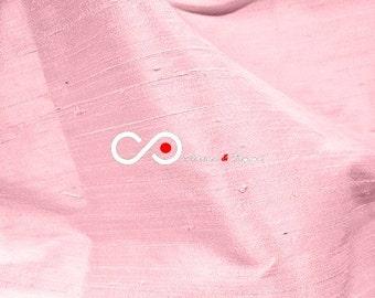Silk Dupioni Fabric - Pink D313 - Section Pink - 1 yard 100% Silk Dupion