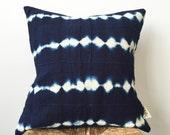 JONAS Indigo Pillow Cover