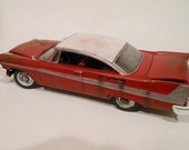 Rusted Wreck, Classicwrecks, Scale Model, Red Plymouth, Christine Car,Rat Rod,BarnFind,MovieModelCar