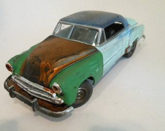 Classicwrecks ,Rusted Wreck, Scale Model, Chevy Car