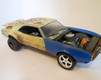 Scale Model Car Classicwrecks Rusted Wreck Firebird