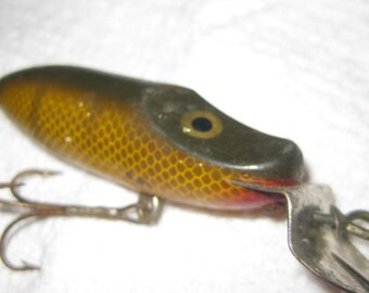 J.C. Higgins Wood Lure Sears collectible ON SALE