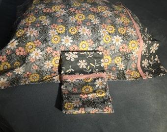 Vintage Flowers Pillowcase