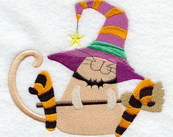 Cast a Spell Cat - Fabric - Towels - Totes