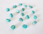 Natural Pinto Valley Turquoise Nugget Lot 15.15cts