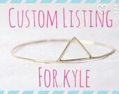 Custom Listing for Kyle