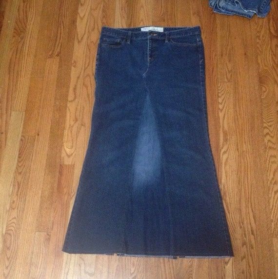 size 10 jean skirt ready to by