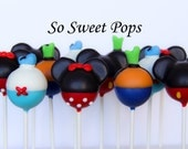 So Sweet Pops Happily Made Mouse Assortment Inspired Cake Pops