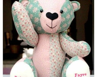 Handmade Personalised Bear