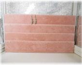 Vintage Pink Velvet Flat Earring Storage/Display Brand New Old Stock